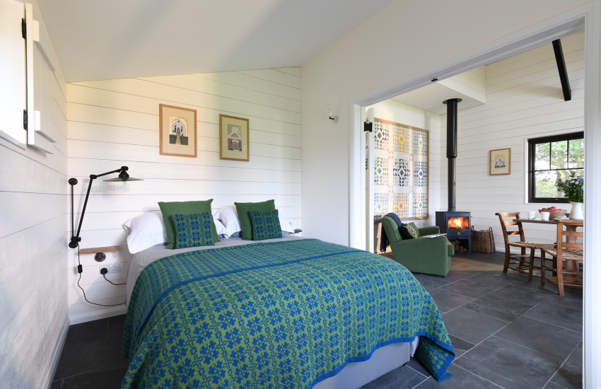 Glamorgan Heritage Coast of South Wales - double bedroom