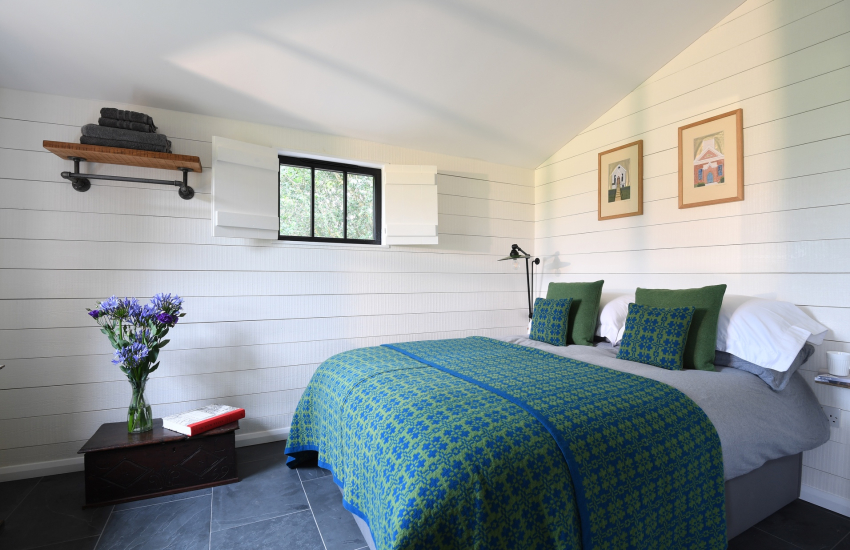 St Donats village cottage holiday - double bedroom