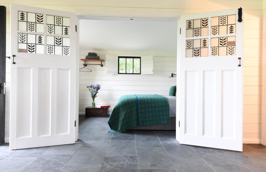 Holiday cottage Cowbridge - double bedroom