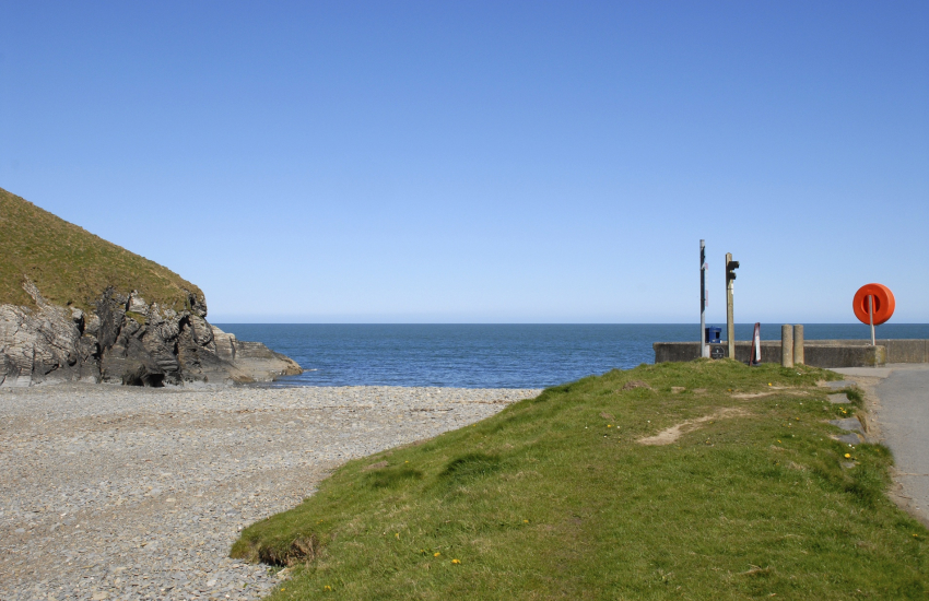 Cwm Tydu once a favourite haunt for smugglers