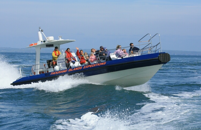 Boat Trips Thousand Islands Expeditions, Voyages of Discovery, Venture Jet