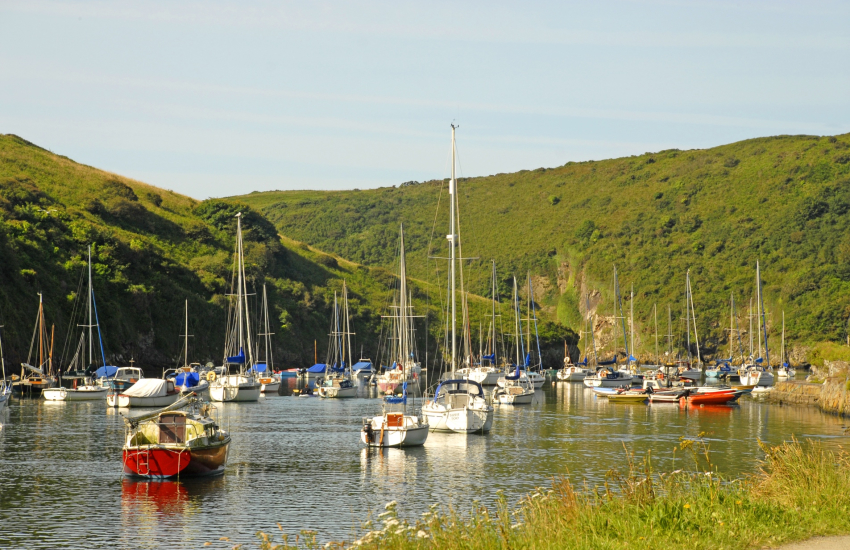 Solva with its picturesque harbour