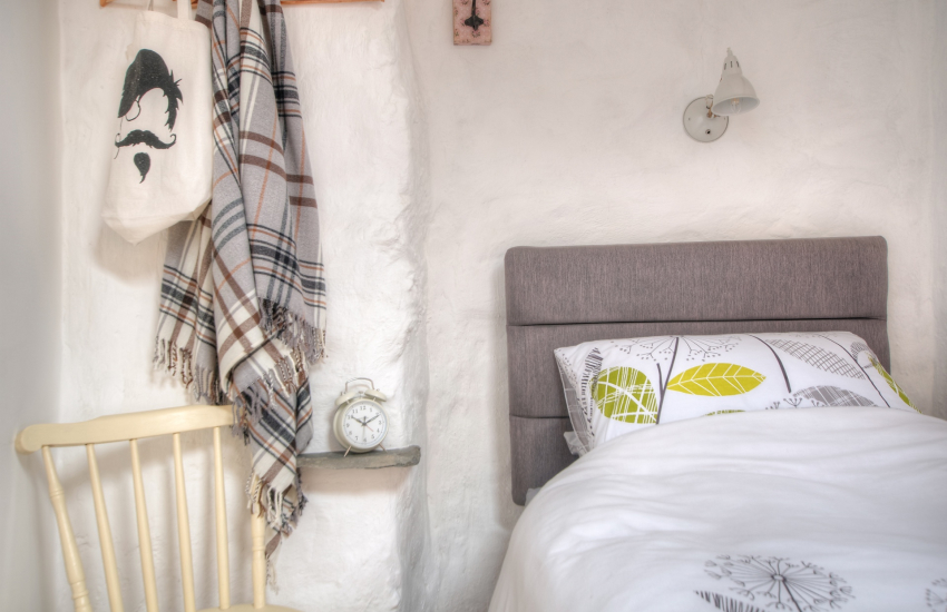 Cardigan Bay holiday cottage - single bedroom