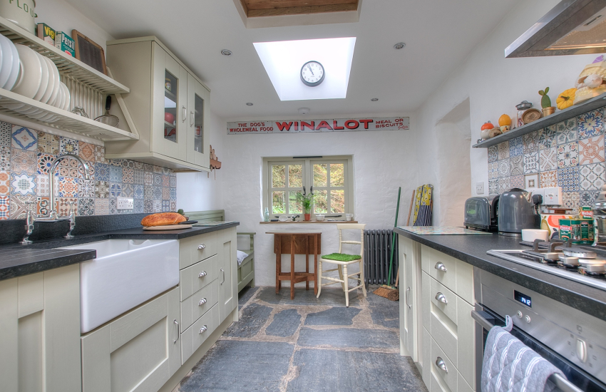 3 dogs welcome cottage Wales - kitchen
