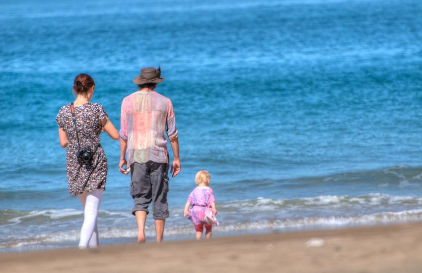 Mwnt beach, Cardigan Bay