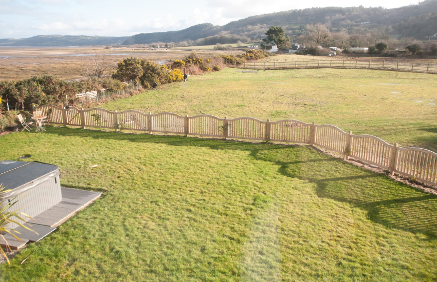 Anglesey holiday house with hot tub - double bedroom view 1st floor