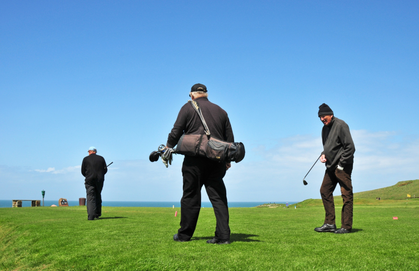 Golf in Anglesey