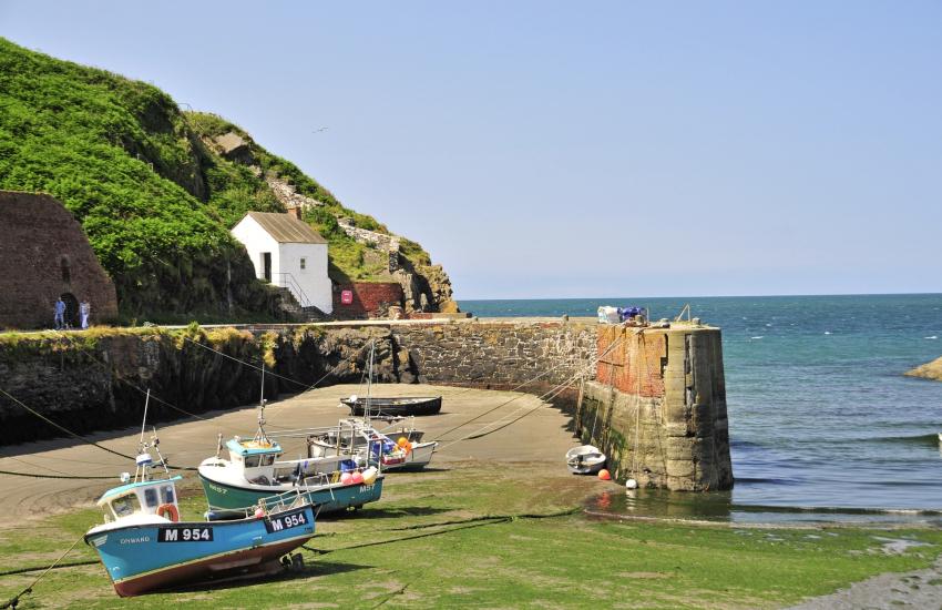 Porthgain - a tiny picturesque harbour