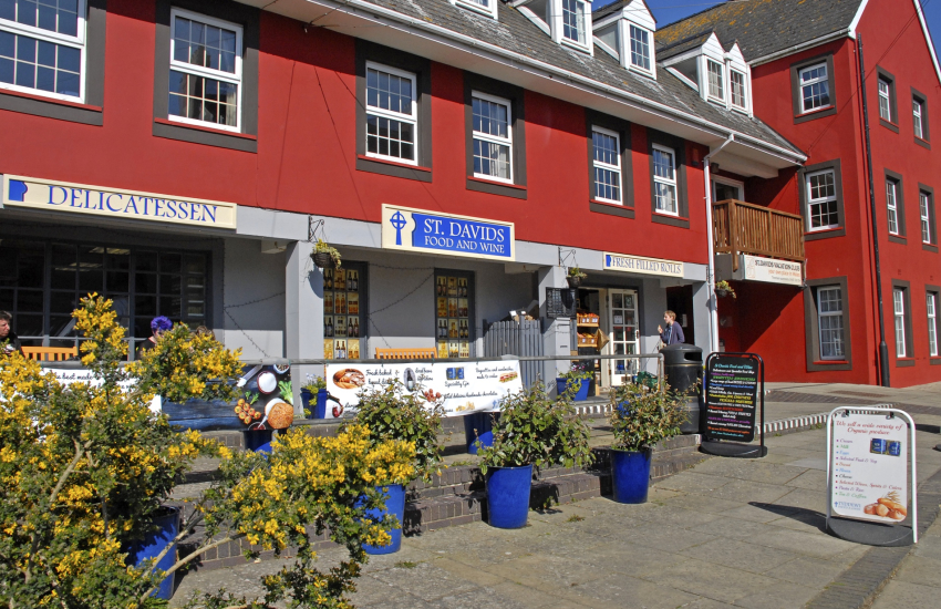 St Davids Food and Wine - an excellent delicatessen