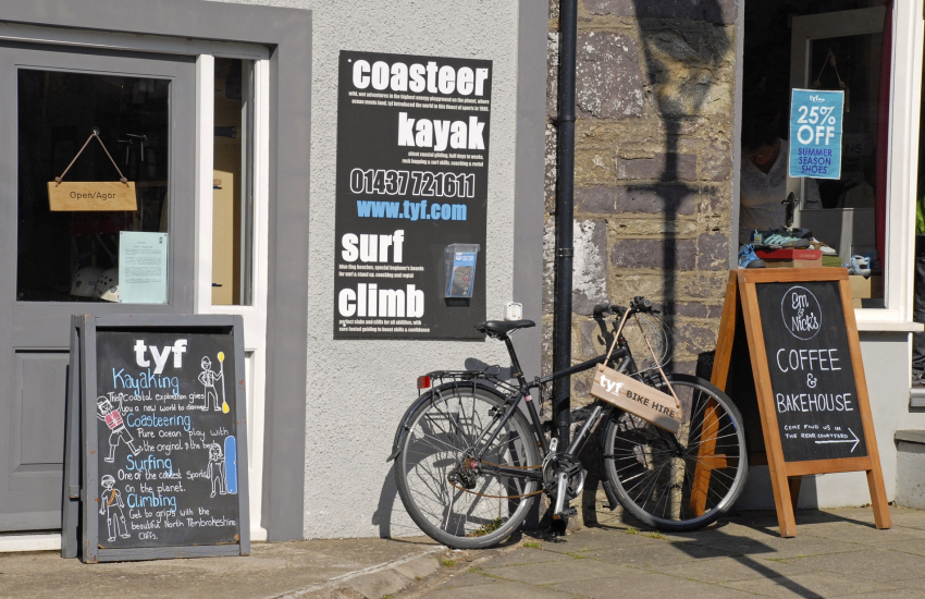 TYF offer a wide range of coastal activities plus bike hire