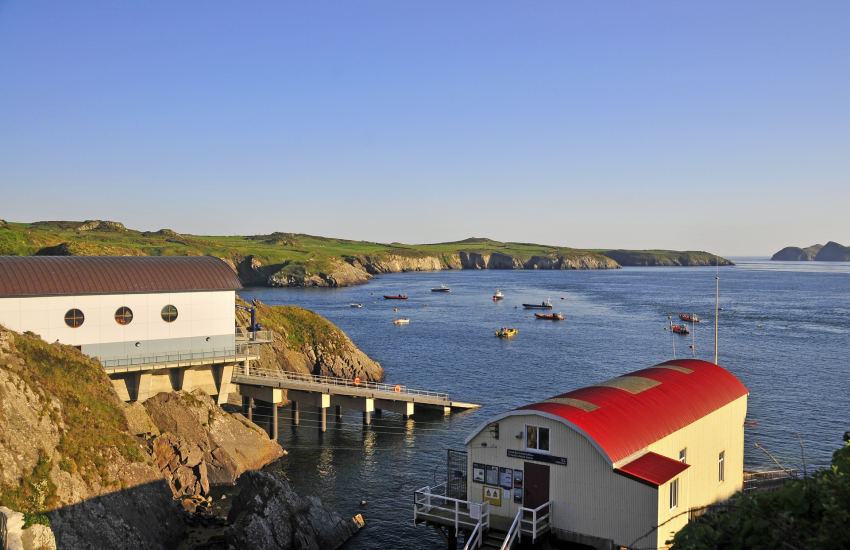 St Justinian's and the new St Davids Lifeboat Station
