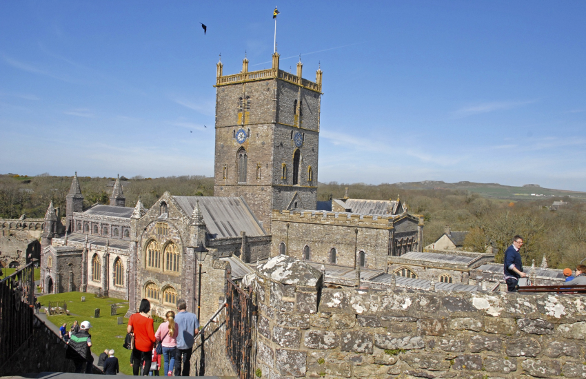 St Davids Cathedral was built in 1181