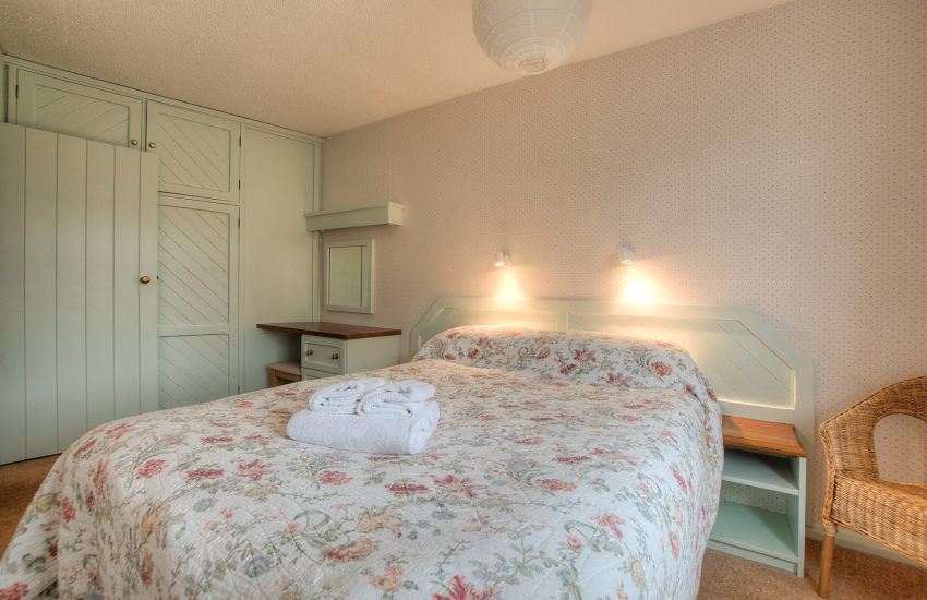 Pembrokeshire self catering apartment - bedroom