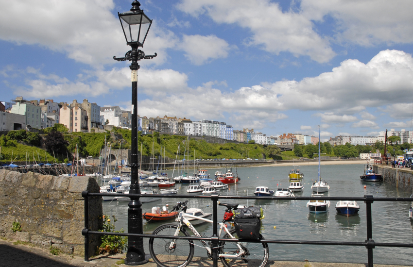 Tenby - a popular seaside town