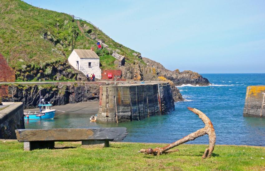 Porthgain - a popular fishing village