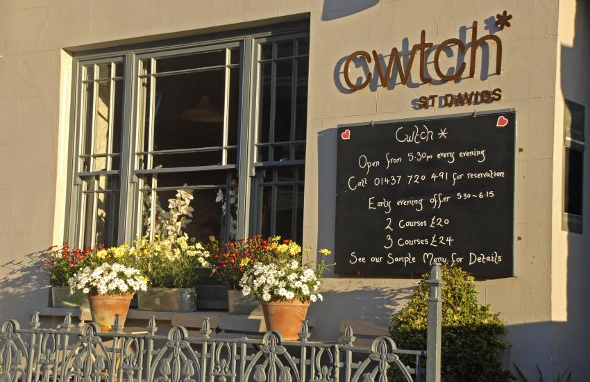 'Cwtch Restaurant' St David