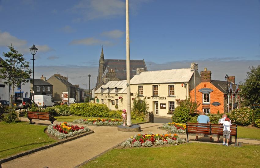 Cross Square in St Davids