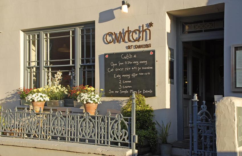 'Cwtch Restaurant', St Davids
