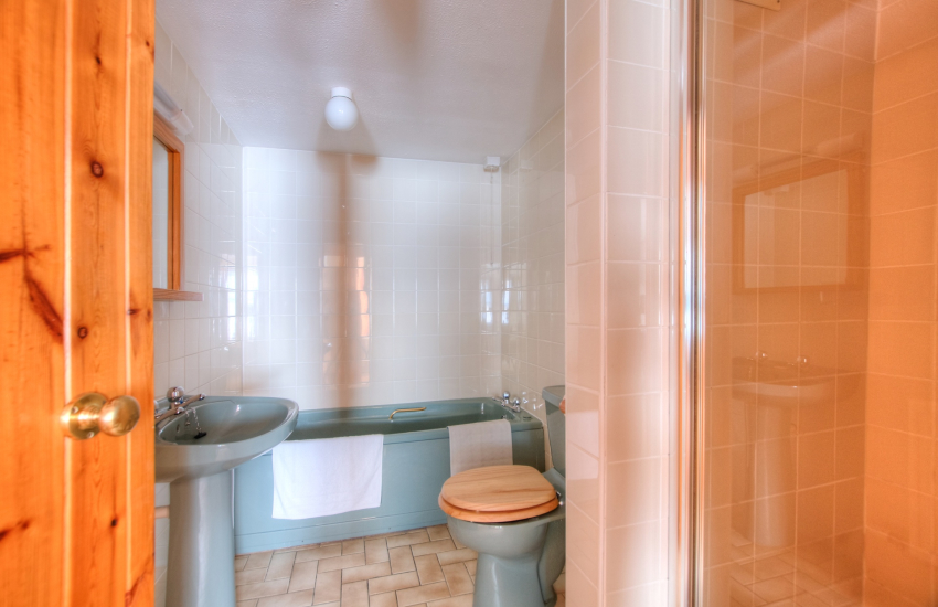 Pembrokeshire holiday apartment - bathroom