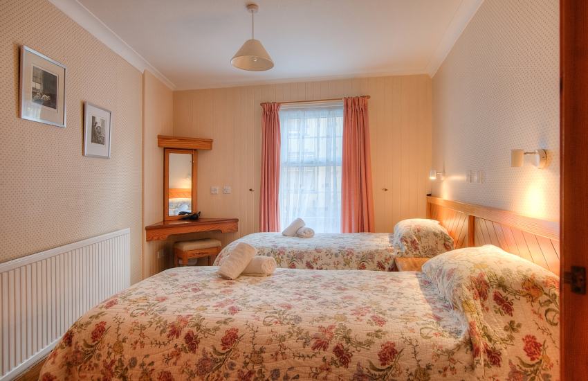 St Davids self catering accommodation - double bedroom