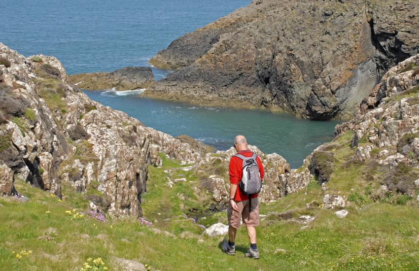 The Pembrokeshire Coast Path - 180 miles