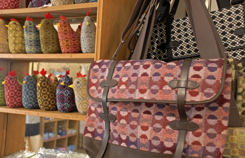 Melin Tregwynt Mill Shop and Cafe for beautifully woven Welsh products