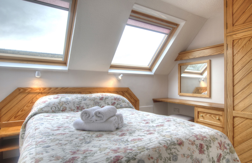 St Davids self catering - double bedroom