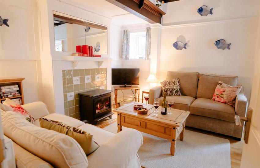 Gower Peninsula holiday cottage - lounge