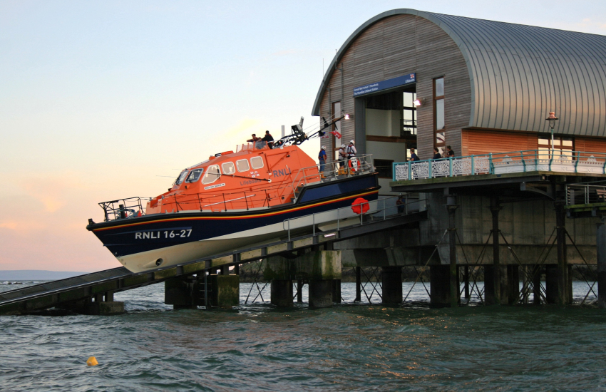 Mumbles Pier Lifeboat