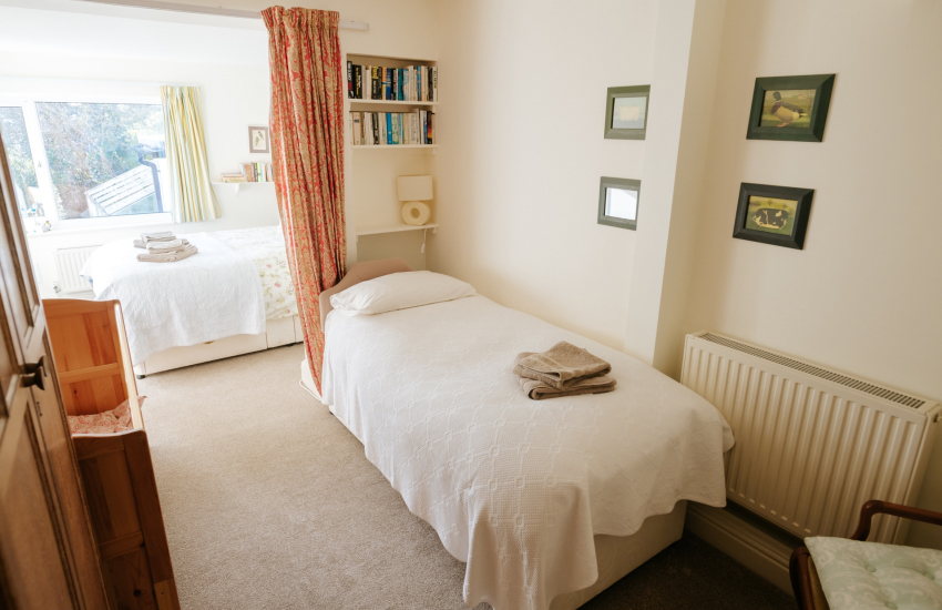 Langland Bay holiday - family bedroom
