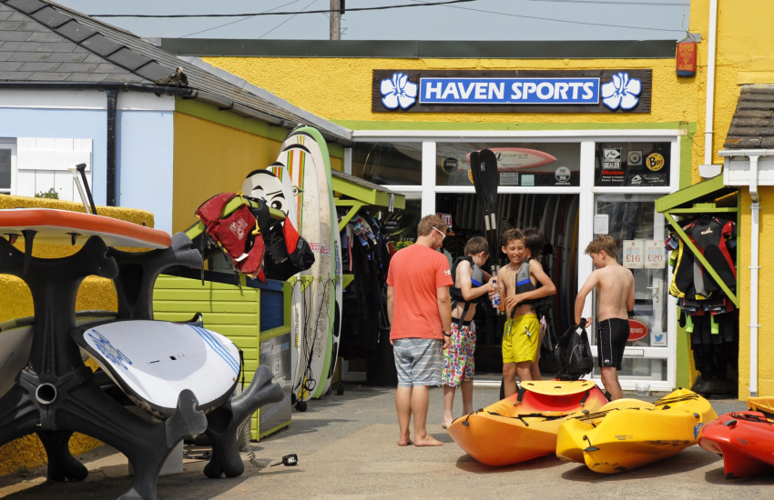 Haven Sports in nearby Broad Haven