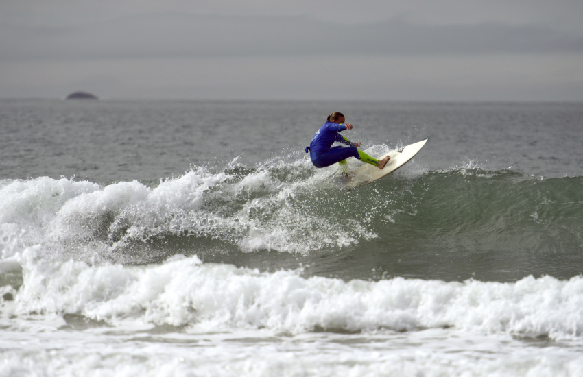Whitesands Bay popular with families and water sport enthusiasts