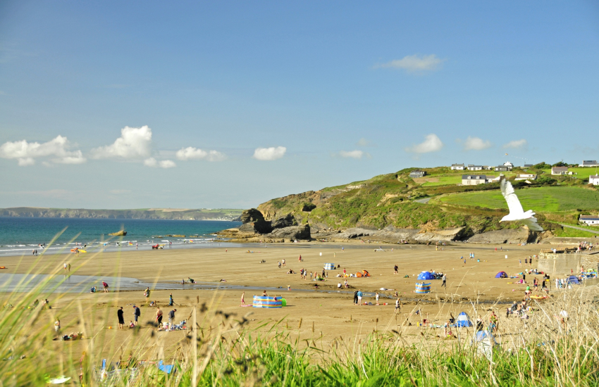 Broad Haven (north) - a Blue Flag beach