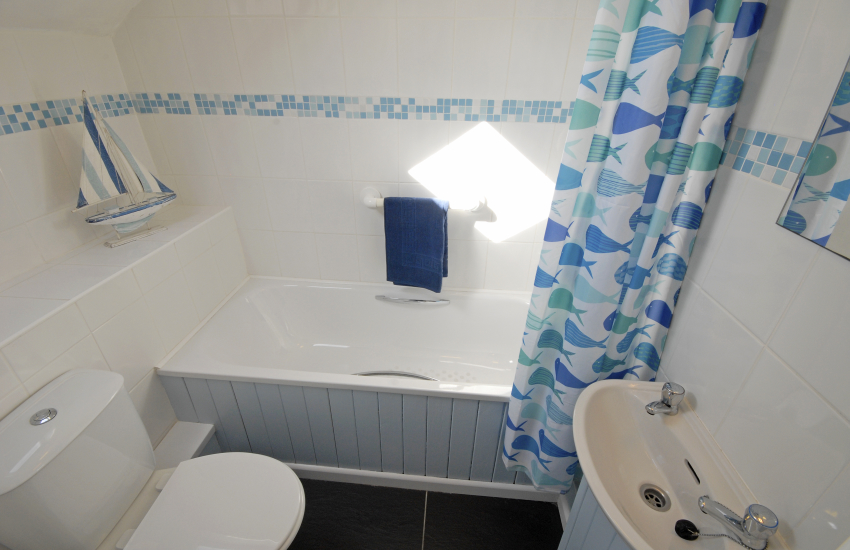 Twin en-suite bath/shower room