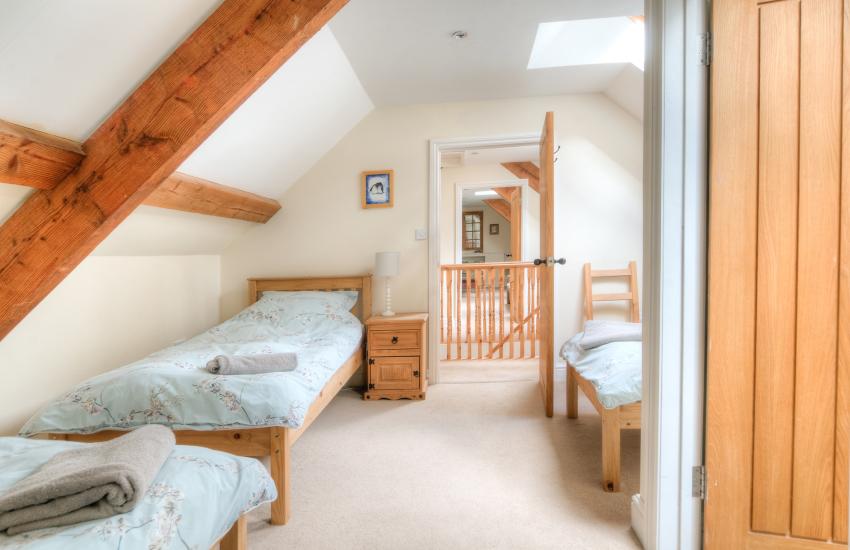 Hay on Wye holiday house  - 1st floor triple bedroom