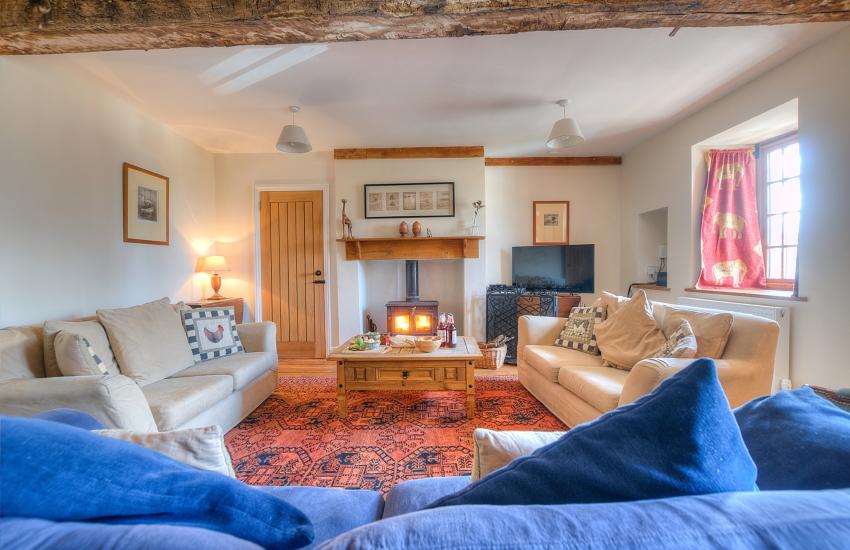Big holiday house Hay on Wye - lounge