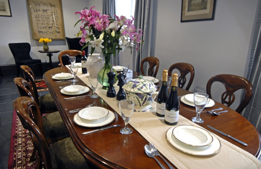 Relax and enjoy party gatherings at the Old Coach House, Glaneriw
