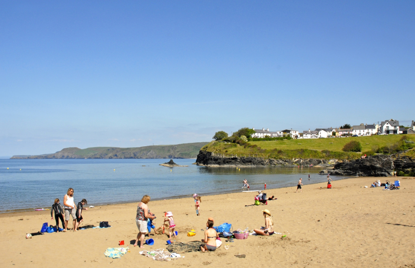 Aberporth - a picturesque fishing village