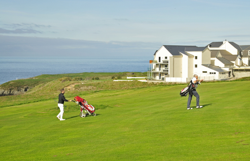 Gwbert The Cliff Hotel Cardigan Golf Club