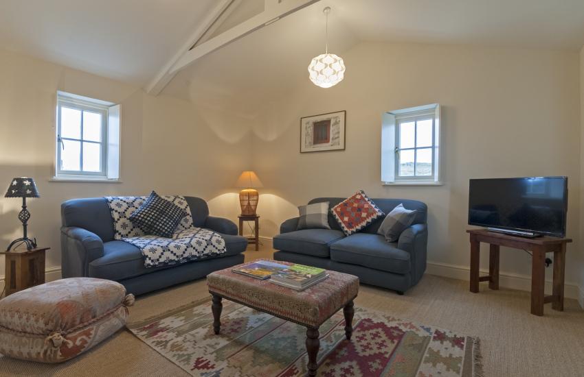 North Pembrokeshire restored cottage near St Davids - sitting room