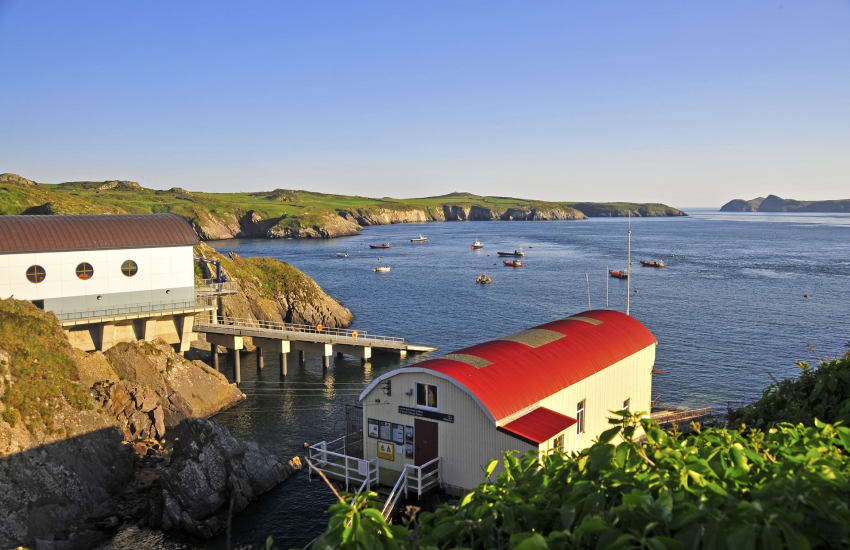 St Justinian's new Lifeboat Station