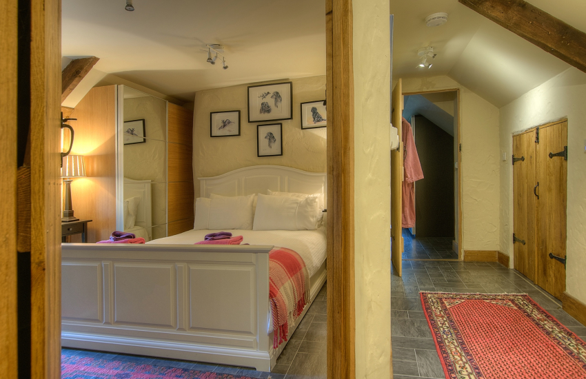 Luxury  Pembrokeshire holiday house - double ensuite bedroom