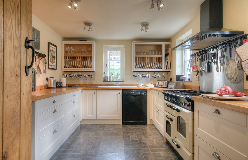 Newport Pembrokeshire pet friendly holiday cottage - kitchen