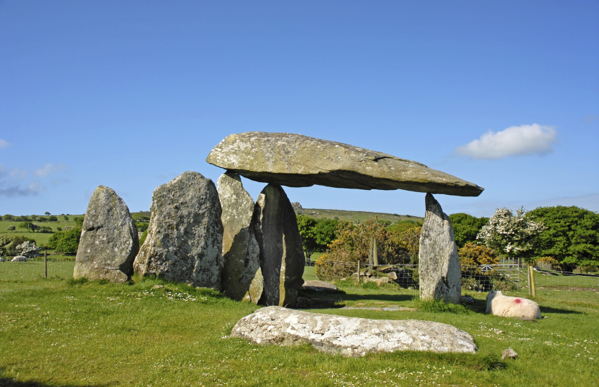 Pentre Ifan is an impressive megalithic burial chamber