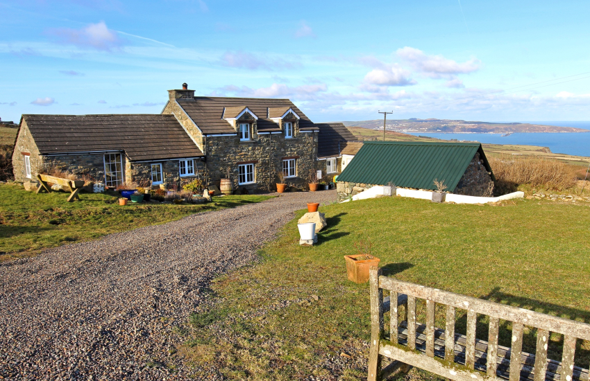 Holiday cottage Wales 3bedrooms - exterior