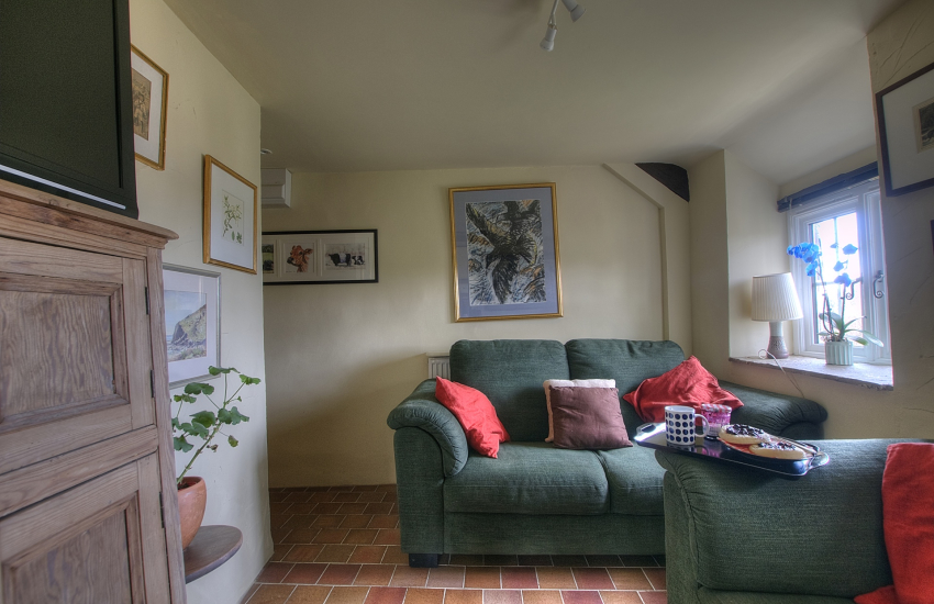 Pet friendly holiday cottage wales  - snug