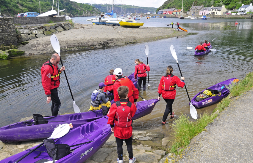 'Kayak King' offer kayaking for all ages and ability