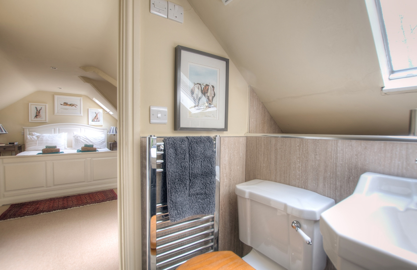 Pembrokeshire holiday house  - 1st floor ensuite bedroom
