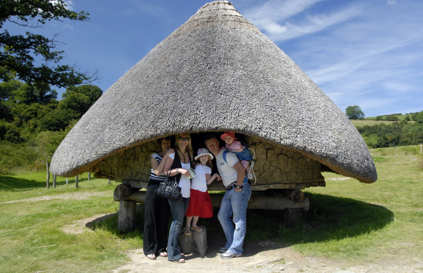 Scolton Manor, Folly Farm, Oakwood Theme Park, Dyfed Shire Horse Centre and Castell Henllys