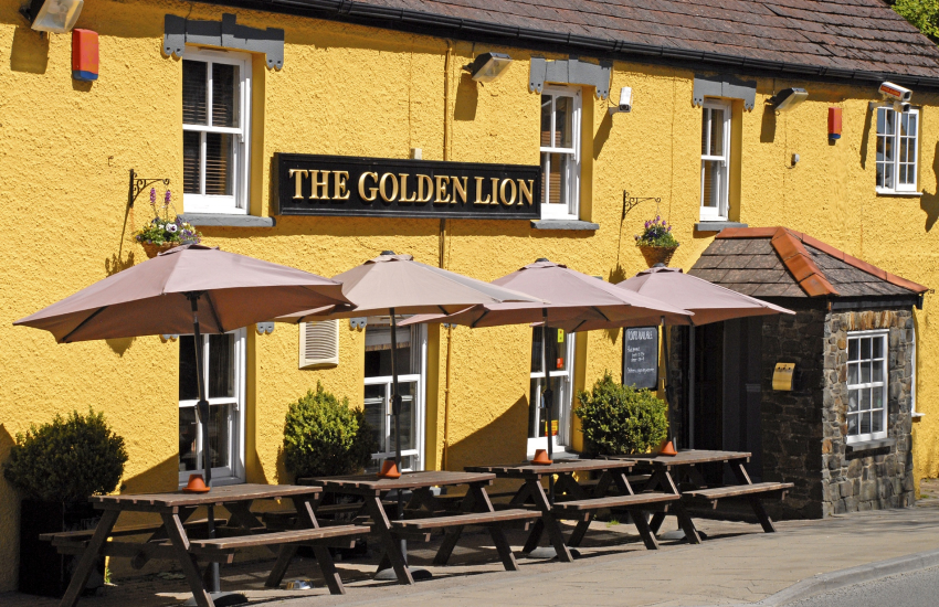 Newport try Cnapan, Llysmeddyg or The Golden Lion